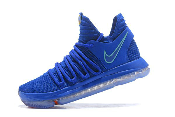 Cheap Wholesale Nike KD 10 City Edition Racer Blue Light Menta Black-Total Crimson 897816-402