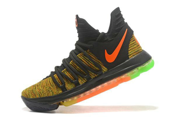 Cheap Wholesale Nike KD 10 Peach Jam EYBL PE Mens Basketball Shoes