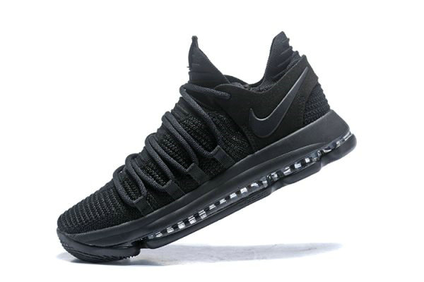 Cheap Wholesale Nike KD 10 Triple Black Mens Basketball Shoes 897816-004