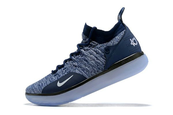 036c71f89bb7 Cheap Wholesale Nike KD 11 Navy Blue White Mens Basketball Shoes For Sale