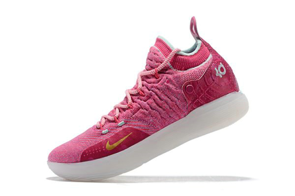 Cheap Wholesale Nike KD 11 Pink White Mens Basketball Shoes Free Shipping