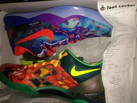 Nike Kobe 8 WTK What The Kobe Shoe