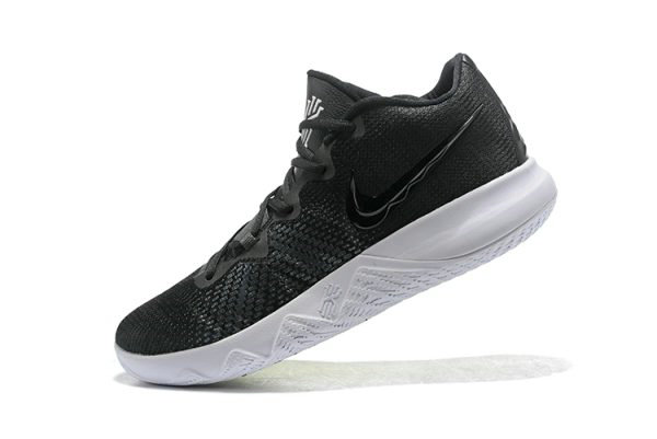 Cheap Wholesale Nike Kyrie Flytrap Black White-Volt AA7071-001