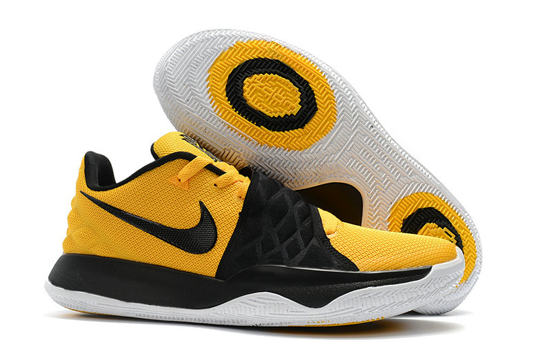 Cheap Wholesale Nike Kyrie Flytrap II Yellow Black White