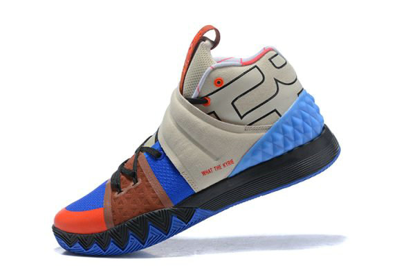 quality design f53f9 509ab Cheap Wholesale Nike Kyrie S1 Hybrid What The Kyrie Brown Khaki Blue Orange  Black