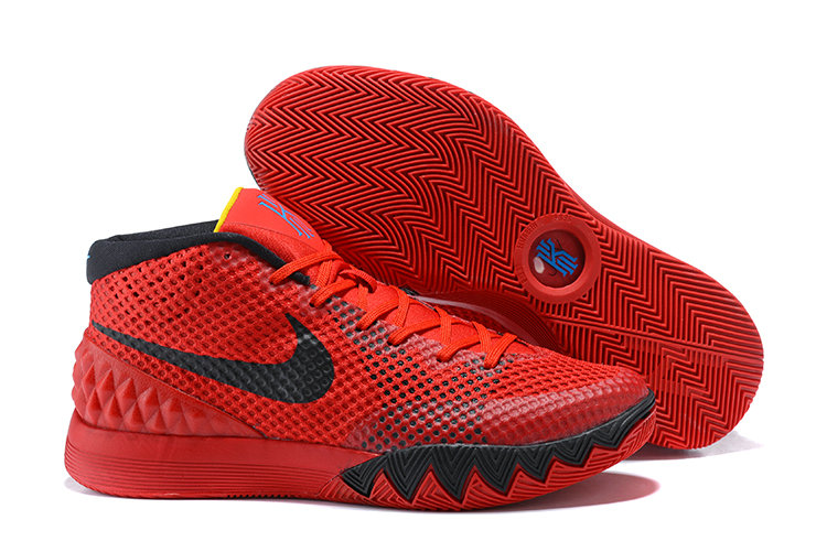 Nike Kyries Cheap Wholesale Nike Kyrie 1 Deceptive Red Official Images