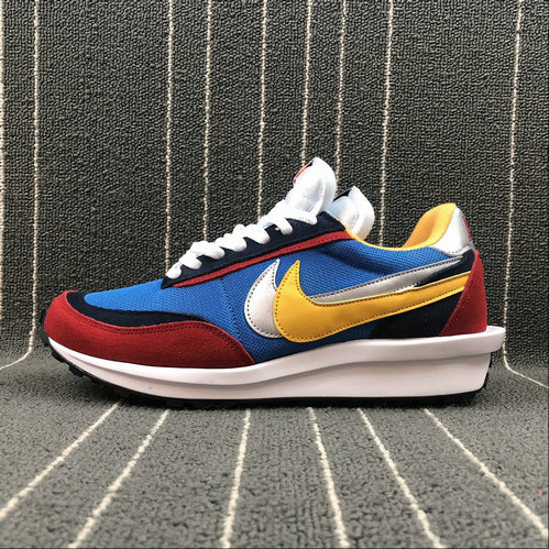 finest selection af5a8 2ded4 Wholesale Nike Ldv Waffle Sacai AR8001-004 Blue Wine Red White Bleu Vin Rouge  Blanc Mens Womens