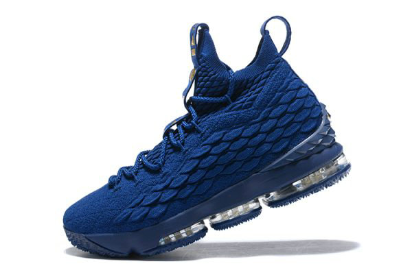 Cheap Wholesale Nike LeBron 15 Agimat Philippines Coastal Blue Metallic Gold Mens Basketball Shoes