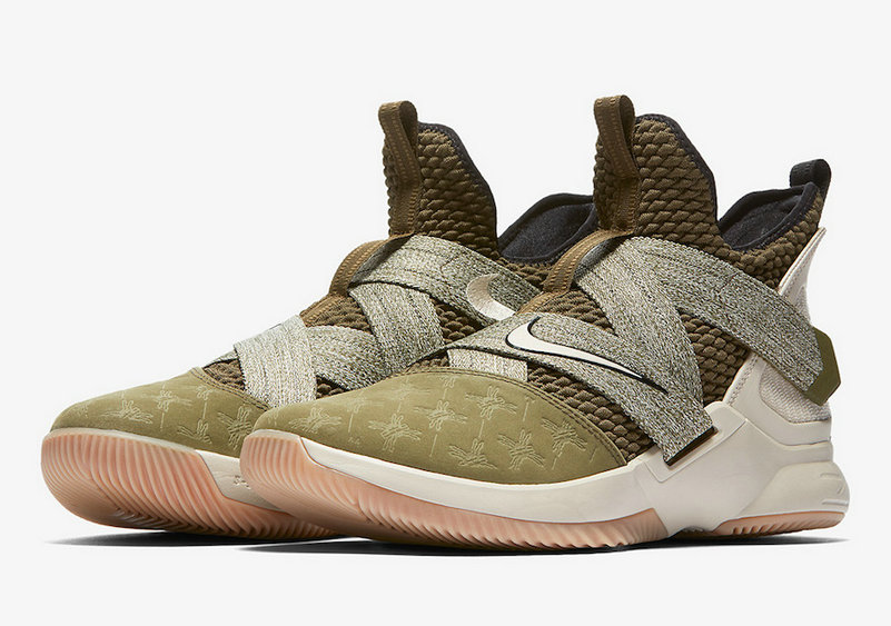 Cheap Wholesale Nike LeBron Soldier 12 AO2609-300 LAND AND SEA PACK