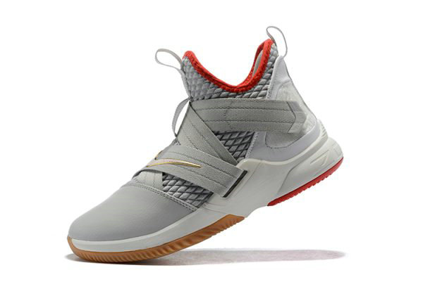 Cheap Wholesale Nike LeBron Soldier 12 Yeezy Light Bone AO2609-002 Free Shipping