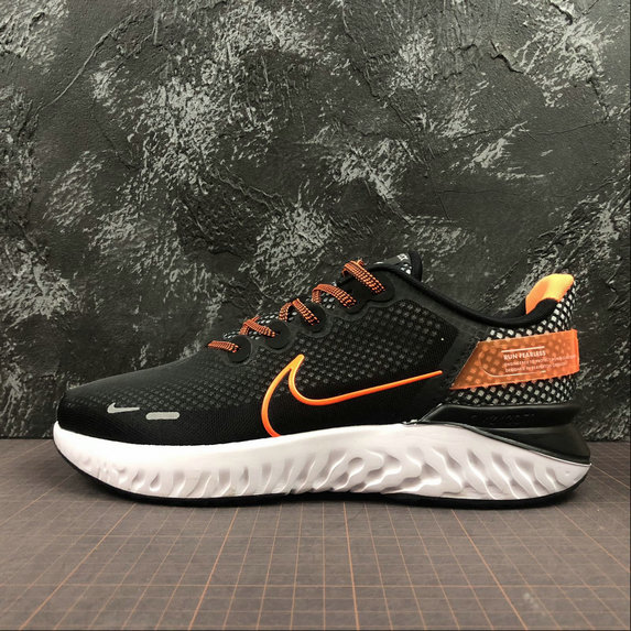 Wholesale Cheap Nike Legend React 3 517762-801 BLACK ORANGE RED