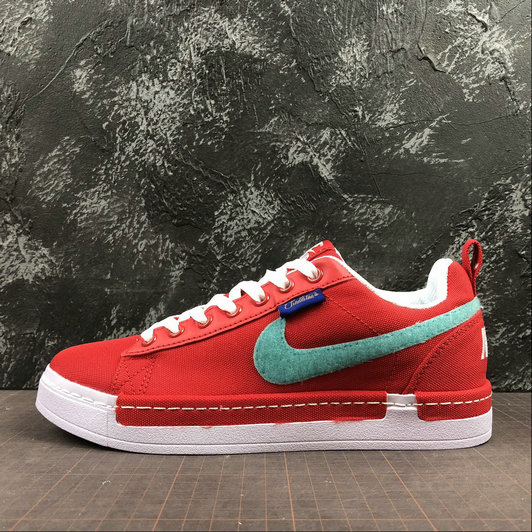 Wholesale Cheap Nike Lunar AIR Force 1 Duckboot Low Womens 805886-606 Red White Rouge Blanc