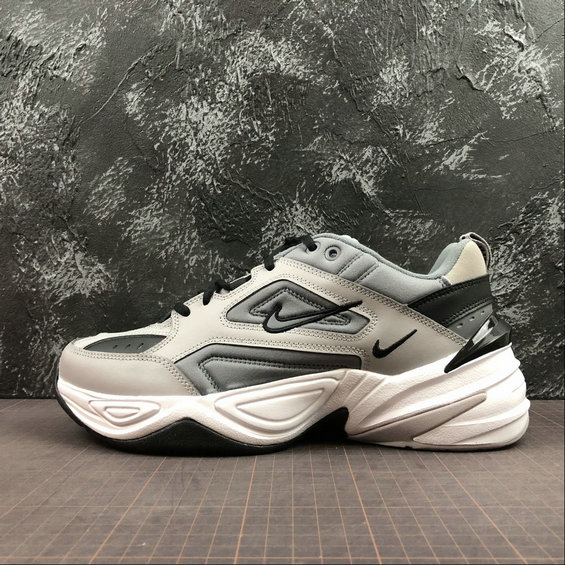 Wholesale Cheap Nike M2K Tekno AV4789-007 Pure Platinum Black White Platine Pur Blanc Noir