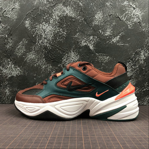 Cheap Wholesale Nike M2K Tekno AV4789-200 Pueblo Brown Black Rainforest Marron Noir