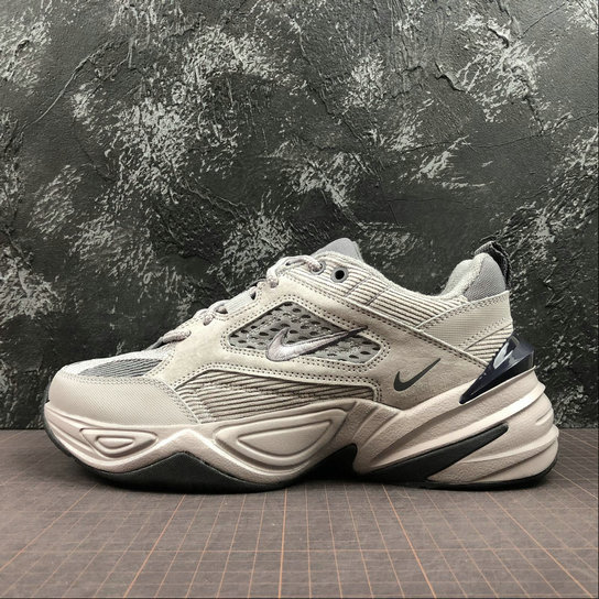 Wholesale Cheap Nike M2K Tekno BV0074-001 Pure Platinum Dark Grey Gris Fonce