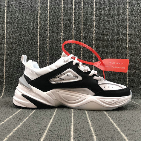 Wholesale Nike M2K Tekno x Off White AO3108-062 Black White Grey Noir Blanc Gris