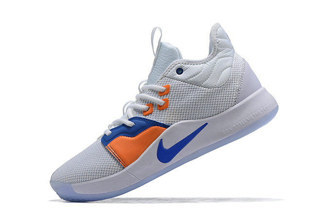 Where To Buy Nike PG 3 The Bait III White Photo Blue For Sale