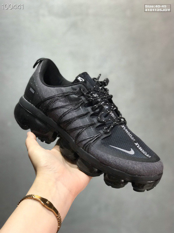Wholesale Cheap Nike Vapormax Run Utility Features Full Reflectivity And Water Repellent Uppers
