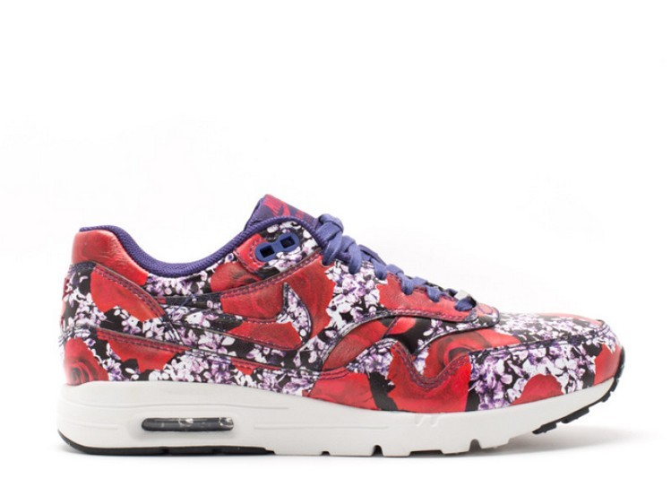 Cheap Wholesale Nike Wmns Air Max 1 Ultra Lotc Qs London 747105-500 Ink Ink-Summit White-Team Red