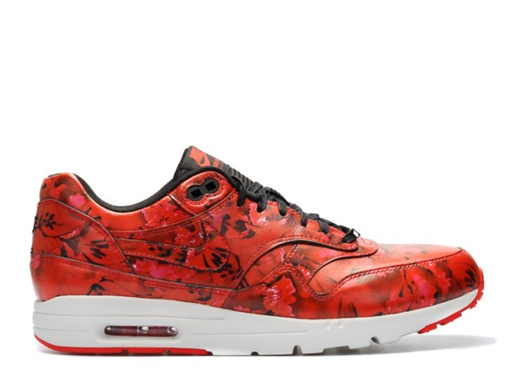 Cheap Wholesale Nike Wmns Air Max 1 Ultra Lotc Qs Shanghai 747105-600 Challenge Red Challenge Red-Summit White-Black