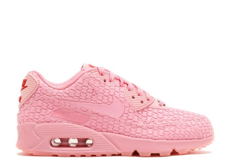 Cheap Wholesale Nike Wmns Air Max 90 Dmb Diamondback Qs Shanghai 813152-600 Space Pink Space Pink-Challenge Red