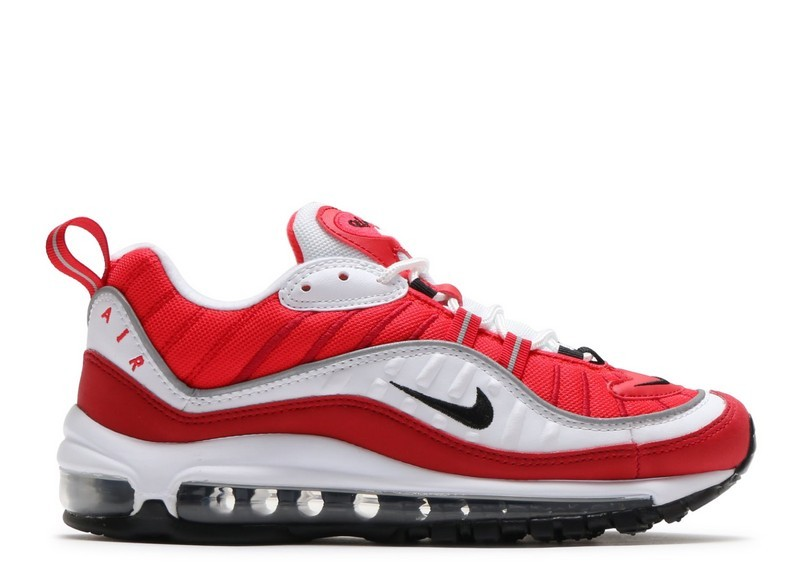 a2fccda4de23 Cheap Wholesale Nike Wmns Air Max 98 Ah6799-101 White Black Gym Red Reflect  Silver
