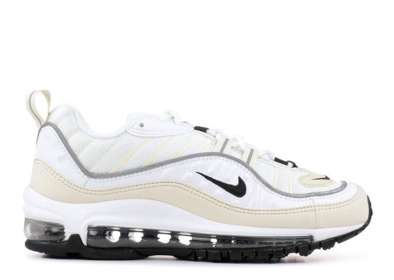 Cheap Wholesale Nike Wmns Air Max 98 Ah6799-102 White Black Fossil