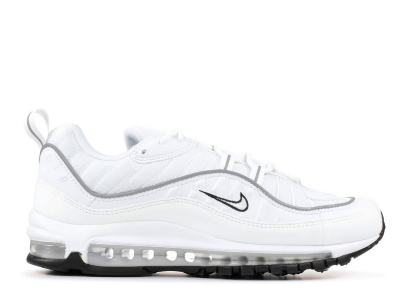 Cheap Wholesale Nike Wmns Air Max 98 Ah6799-103 White hite Reflect Silver