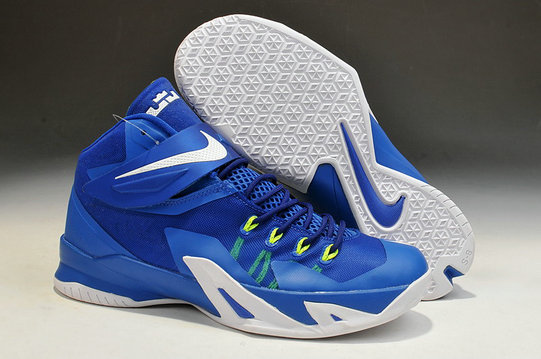 Nike Zoom Soldier 8 Blue White