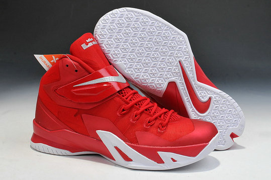 Nike Zoom Soldier 8 Fire Red White