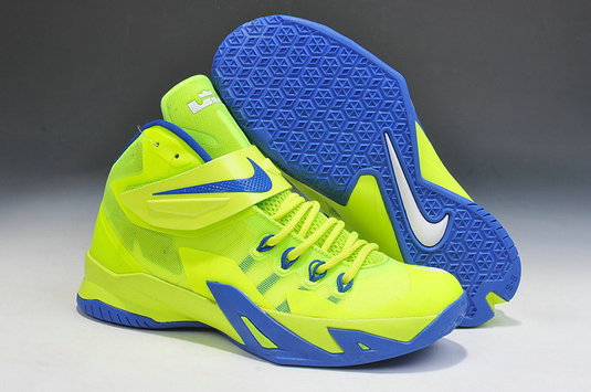 Nike Zoom Soldier 8 Green Blue