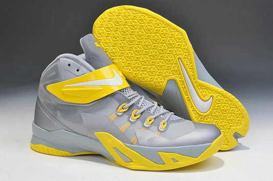 Nike Zoom Soldier 8 Grey Yellow