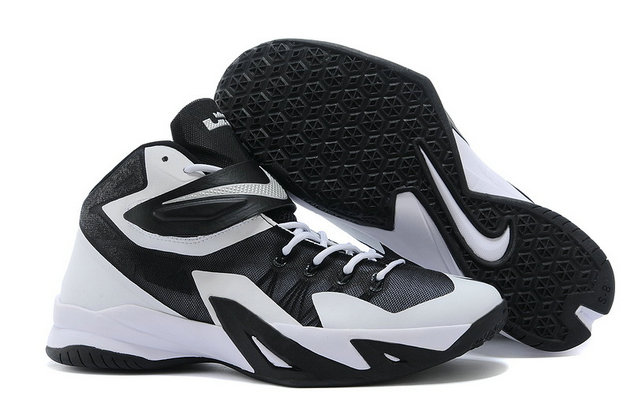 Nike Zoom Soldier VIII White Black