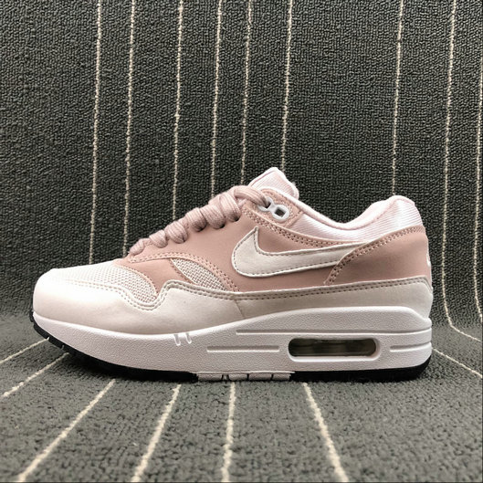 Wholesale Cheap NikeAir Max 1 87 Womens 319986-607 Barely Rose White A Peine Blanc