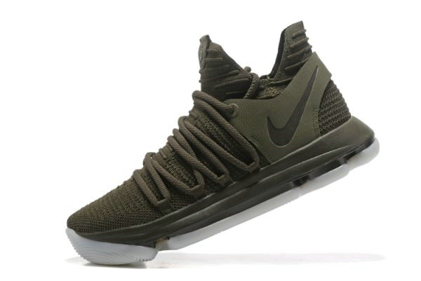 Cheap Wholesale NikeLab KD 10 NL EP Olive Cargo Khaki-White 943298-900