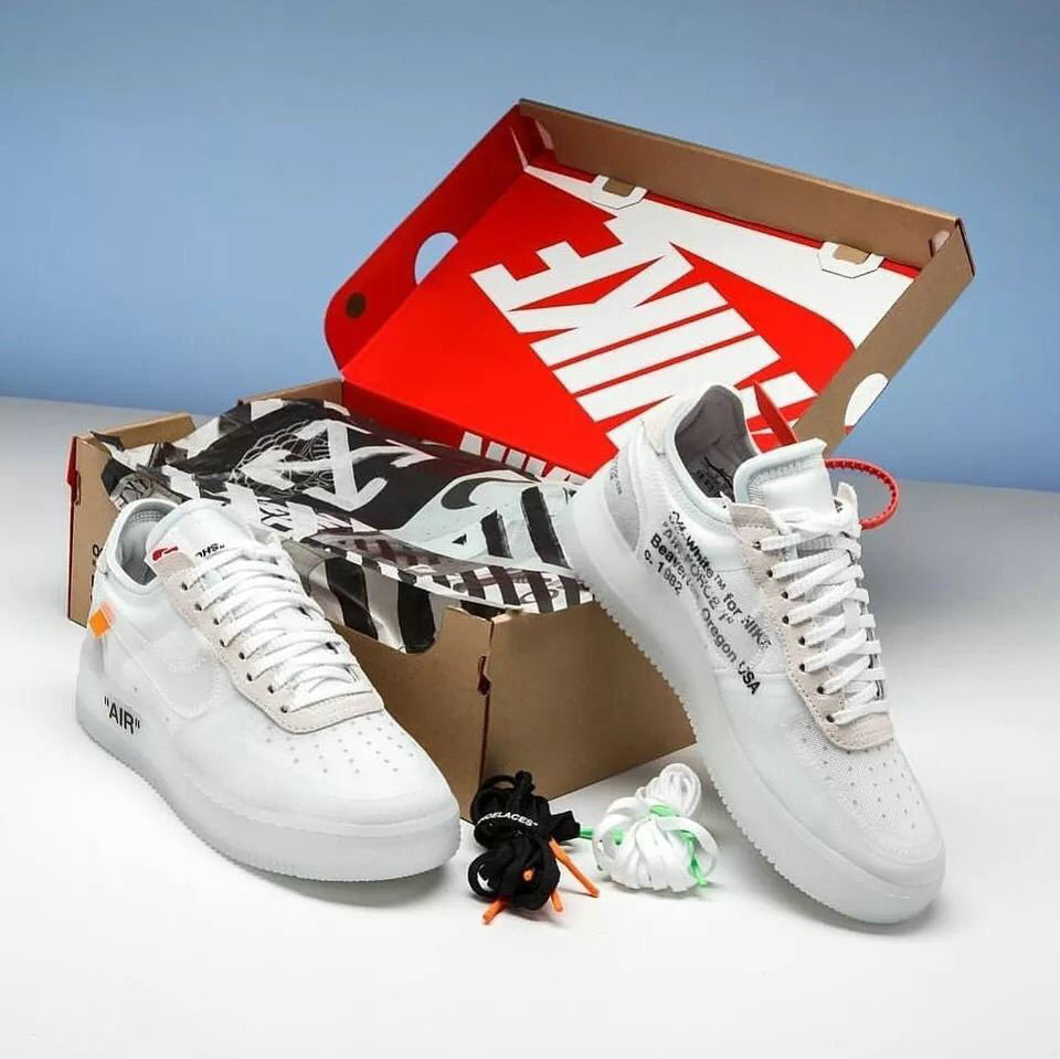 Wholesale OFF-White x Air Force 1 low AO4606-100 Womens White