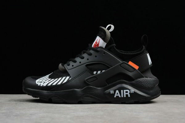online store 8d966 02318 Cheap Wholesale Off-White x Nike Air Huarache Ultra Black Mens Running Shoes  AA3841-001