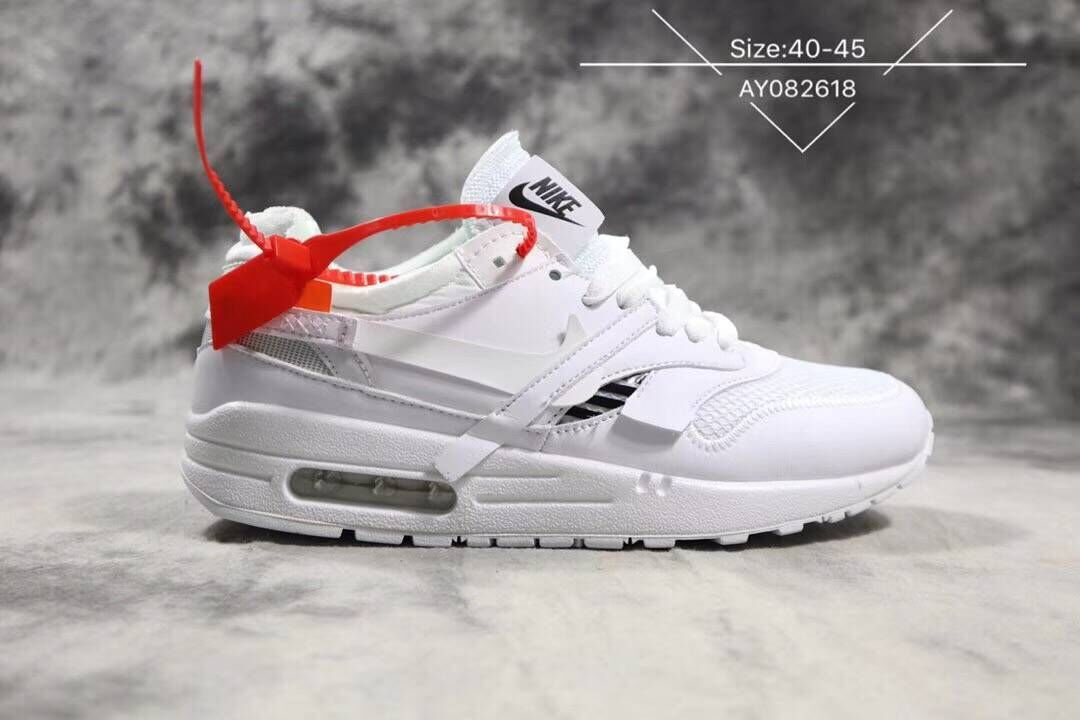 Wholesale Off-White x Nike Air Max 87 1 Triple White