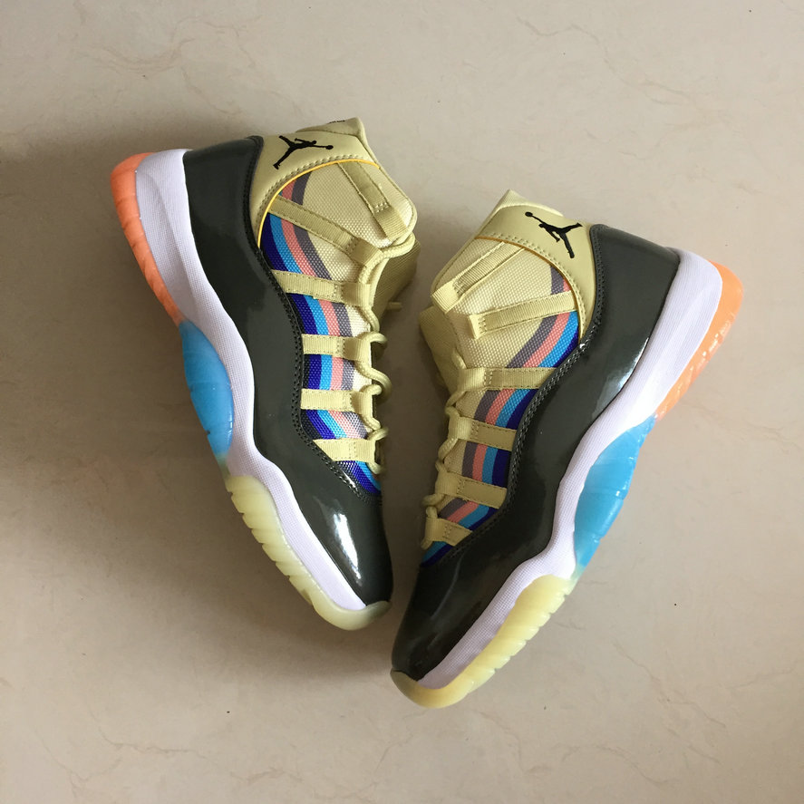 Wholesale Cheap Sean Wotherspoon x Nikes Air Jordans 11