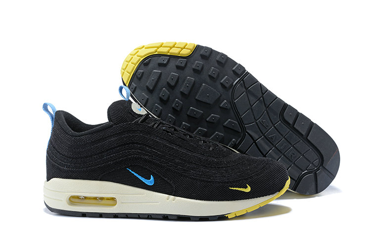 Sean Wotherspoon x Nike Air Max 1 97 VF Sneaker Yellow Blue Black White