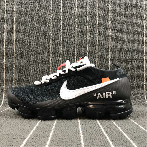 half off bf0cf 12794 Wholesale Cheap THE 10 Nike Air VaporMax FK 2018 OFF WHITE AA3831-001 Black  White