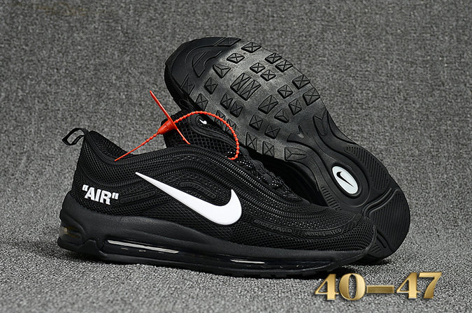 Undefeated x Nike Air Max 97 Black White Cheap Wholesale Air Max 97