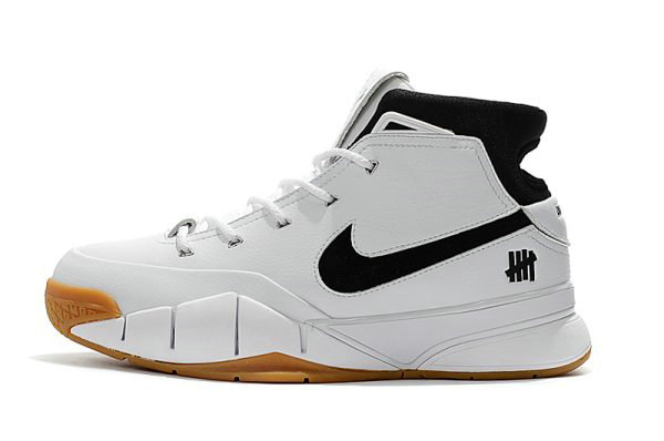 Cheap Wholesale Undefeated x Nike Zoom Kobe 1 Protro White Gum Mens Size Free Shipping