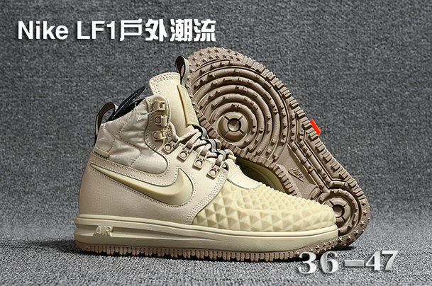 official photos a06a2 ae06c Cheap Wholesale WMNS Nike Lunar Force 1 DuckBoot Beige White