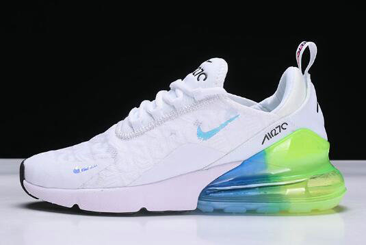 Cheap Wholesale Wmns Nike Air Max 270 White Blue Green Running Shoes Ah6789 130 China Wholesale Nike Shoes Cheap Nike Air Max Shoes Nike Vapormax Wholesale From