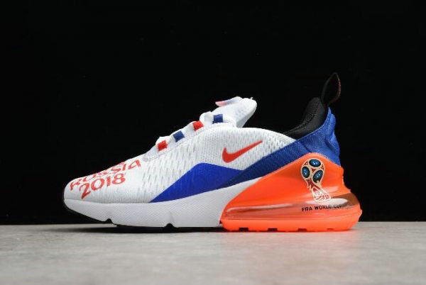 Cheap Wholesale WMNS Nike Max 270 FIFA World Cup Russia 2018 White Racer Blue-Unvrsty Red AQ7982-406