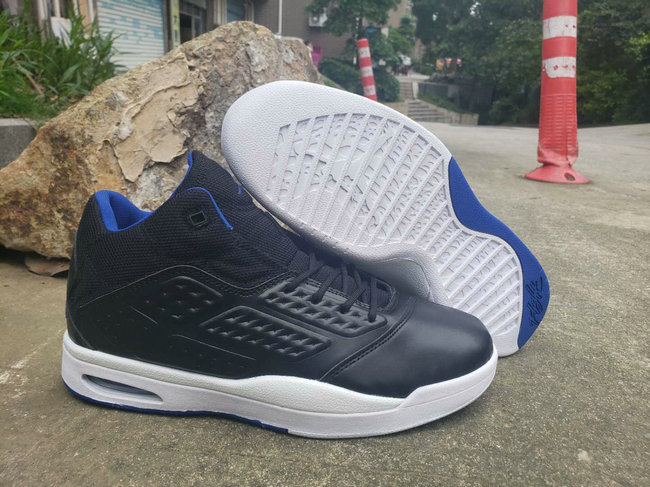 Where To Buy 2019 Cheap Nike Air Jordan New School Trainer Black Blue White