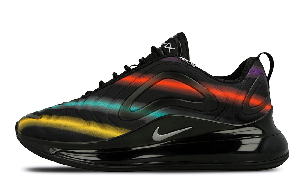 Where To Buy Wholesale 2019 Womens Cheap Nike Air Max 720 Neon Black AO2924-023