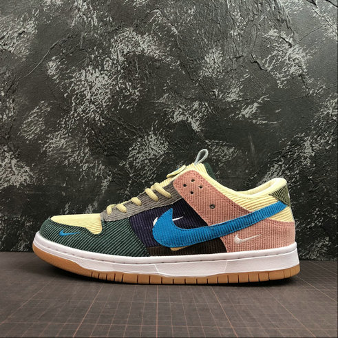 Where To Buy Wholesale 2019 Womens Cheap Nike SB Zoom Dunk High Pro Beige Yellow Orange Purple Blue Jaune Violet 854866-201