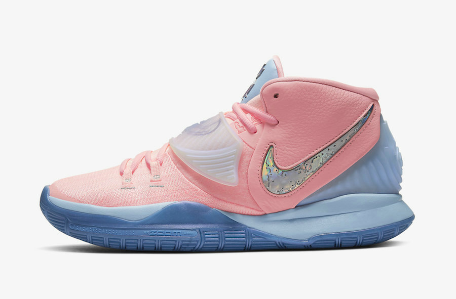 Where To Buy 2020 Wholesale Cheap Concepts x Nike Kyrie 6 Khepri Pink Tint Guava Ice CU8879-600